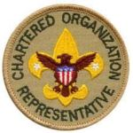 Chartered Organization Representative patch