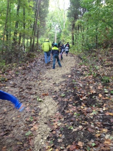 Pack 105 trail maintenance 3