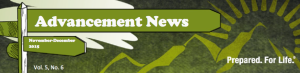 Advancement News masthead