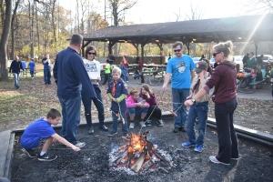 Camaraderie of the bonfire