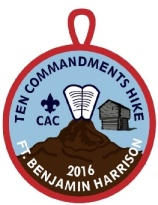 Ten Commandment hike logo