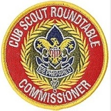Cub Scout Roundtable Commissioner Patch