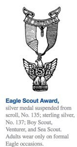Eagle Pin Insignia rule