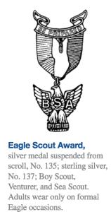 Eagle Pin Insignia rule