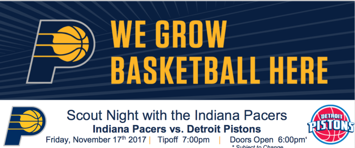 Pacers night logo