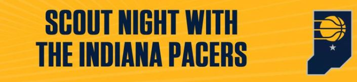 Scout Night at Pacers Fall 2018