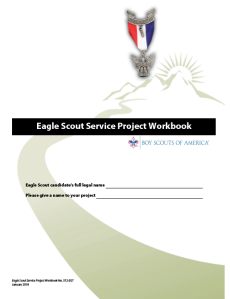 eagle scout workbook (2019) image